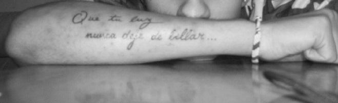 No Se Nota Una Letra De Mi Tatuaje Se Puede Retocar Zonatattoos