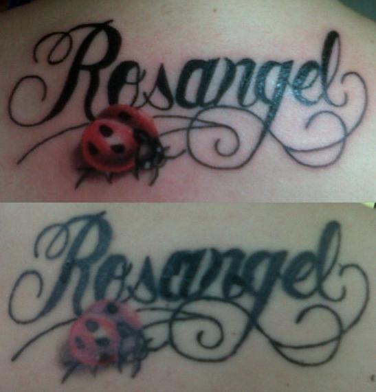Tatuaje Mal Curado Y Decolorado Zonatattoos