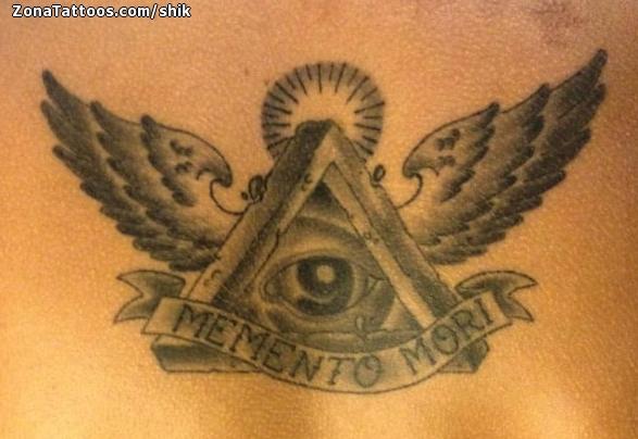 Tatuaje De Illuminati Alas