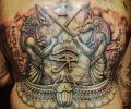 Tatuaje de GatoSantoTattoo