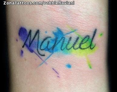Tatuaje de RobbieFlaviani