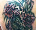 Tatuaje de tribalpato