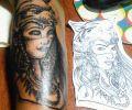 Tatuaje de valeratattooart