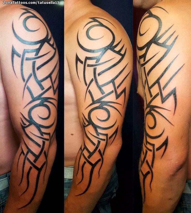 Tatuaje De Tribales Brazo