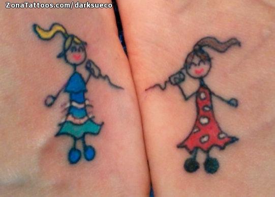 tatuajes pequenos infantiles