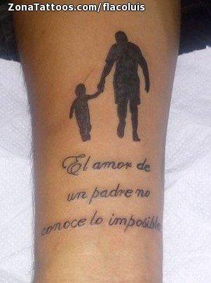 Tatuaje De Siluetas Frases Letras