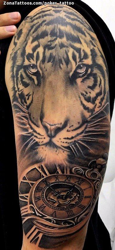 Tatuajes Y Diseños De Tigres