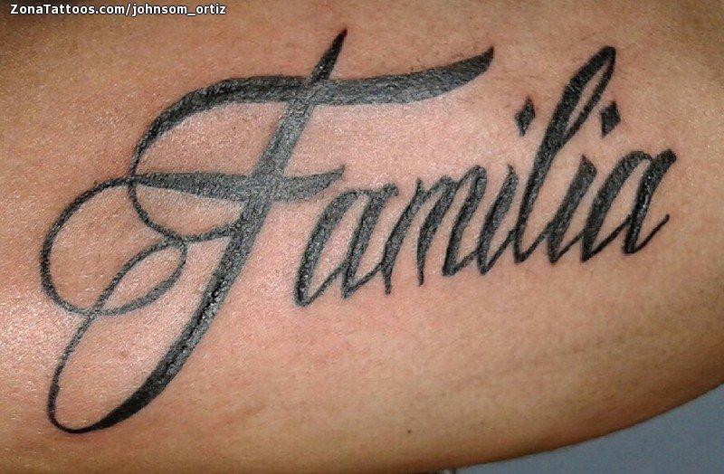 Tatuaje De Familia Letras