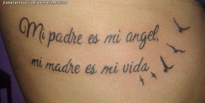 Tatuaje De Frases Letras