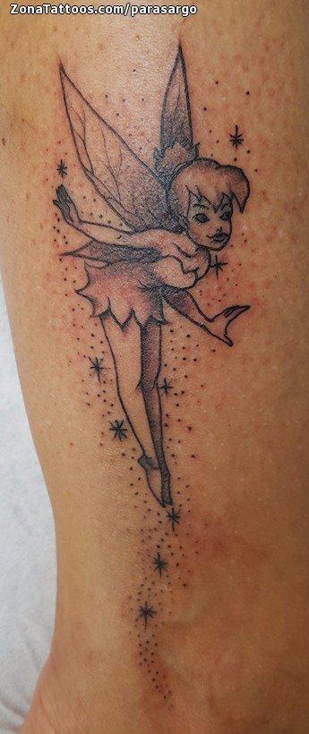 Tattoo Of Tinkerbell Disney Fairies