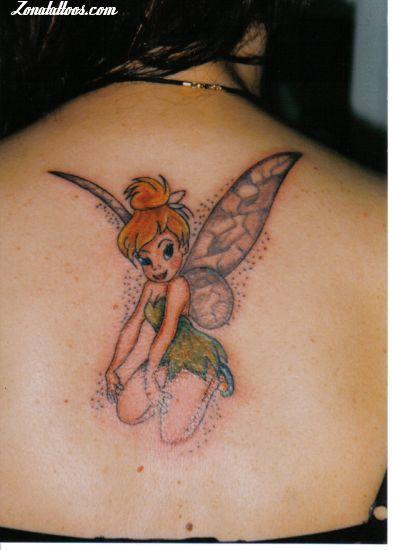 Tattoo Of Tinkerbell Fairies Disney