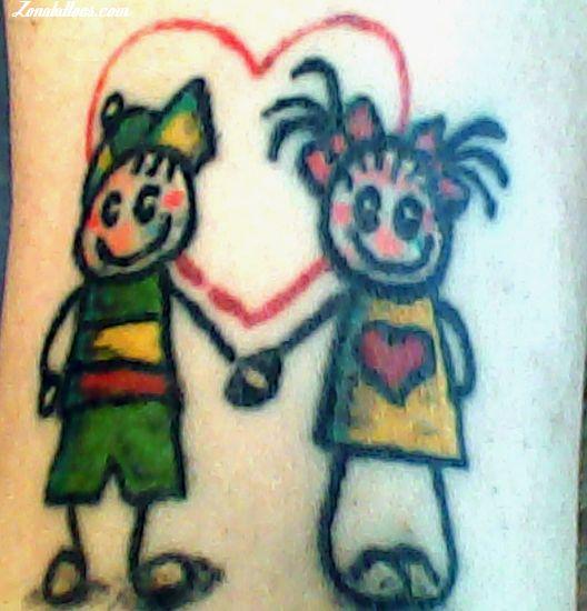 Tatuaje de Infantiles
