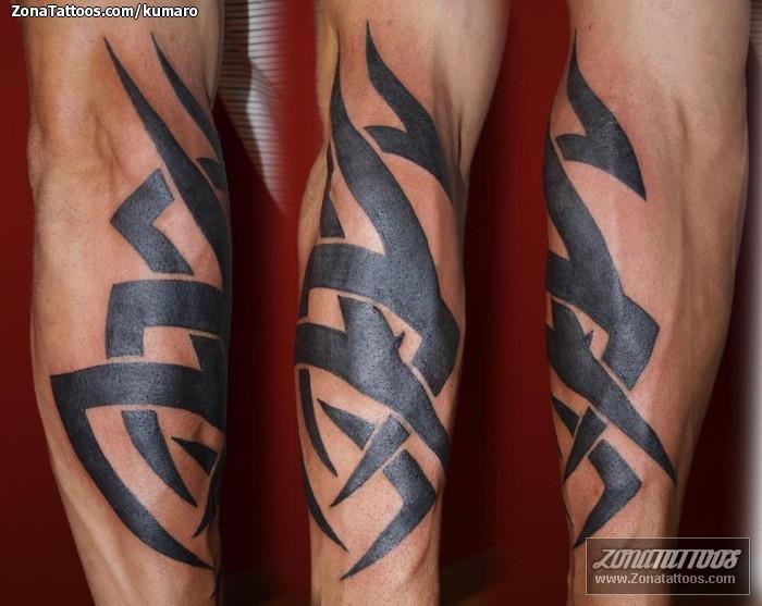 Tatuaje De Tribales Antebrazo