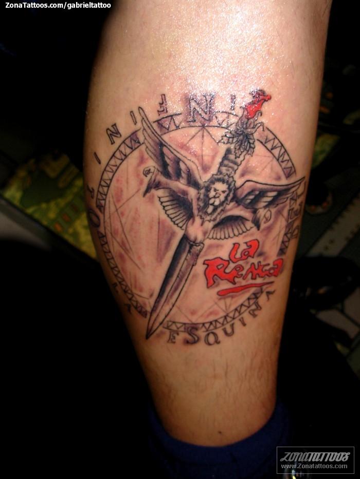 Tatuaje De Música La Renga Armas