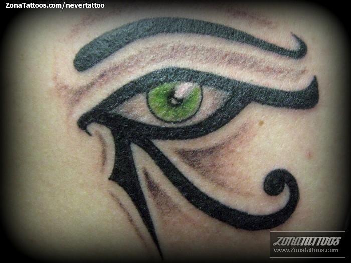 Tatuaje De Ojo De Horus Ojos Egipcios