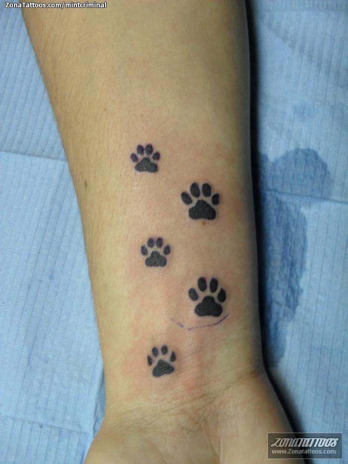 Tattoo Of Footprints