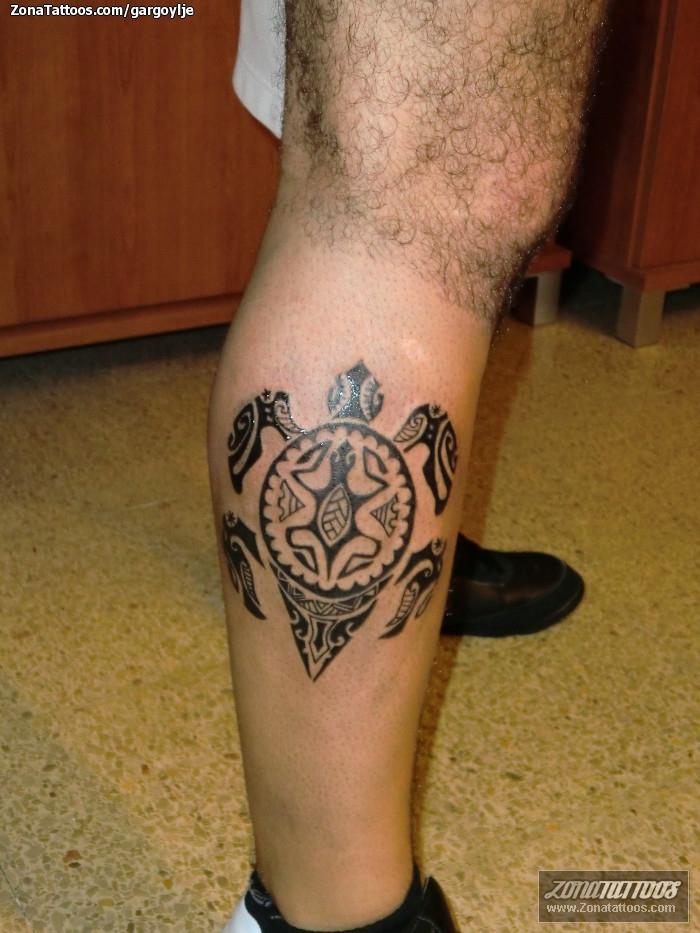 tatuaje de maor es tortugas