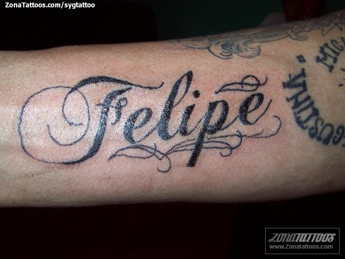 Tatuajes Y Diseños Del Nombre Felipe Zonatattoos