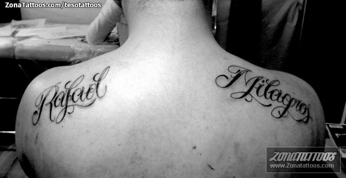 Tatuajes y diseños: Milagros