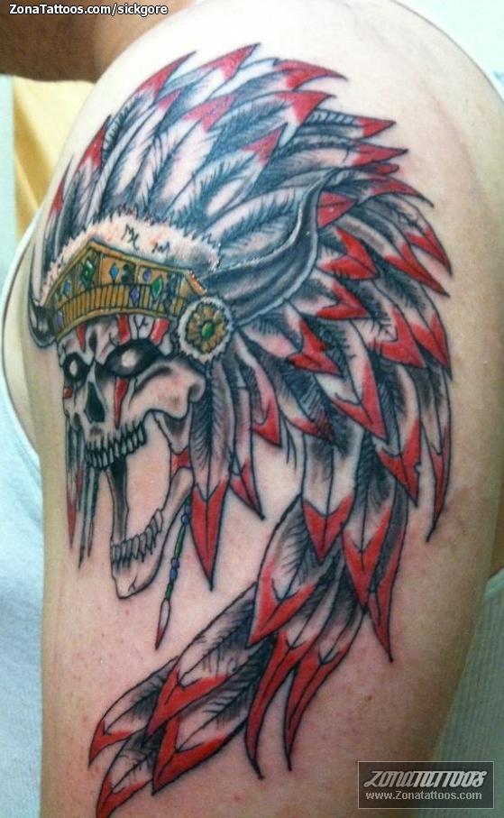 tatuajes indio fetiche