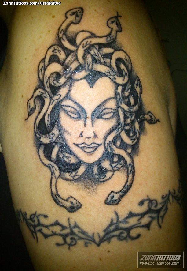 Tatuaje de Medusa, Mitología