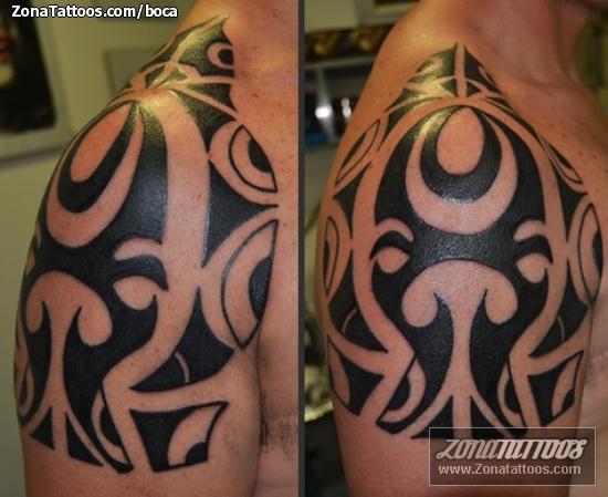 Tatuaje de Hombro Maores
