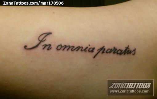 Tatuaje De Letras Latin - Letras-en-latin-para-tatuajes