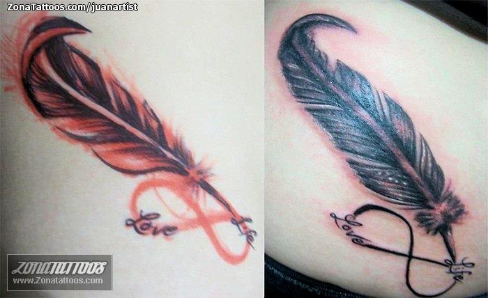 Tatuaje De Plumas