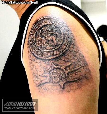 Tatuajes Dioses Aztecas Fotos Tattoos Diseos Imagenes Foto
