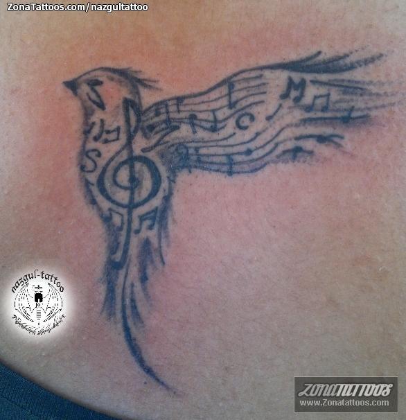 De Notas Musicales Fotos Tattoos Diseos Imgenes Y Dibujos
