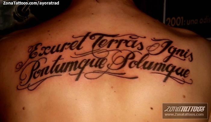 Tatuaje De Latin Letras - Letras-en-latin-para-tatuajes