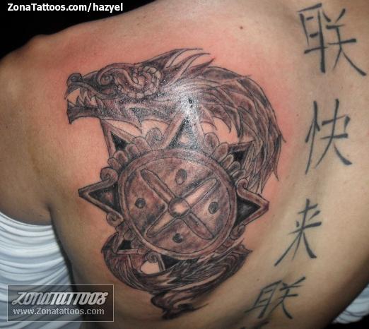 Tatuaje De Aztecas