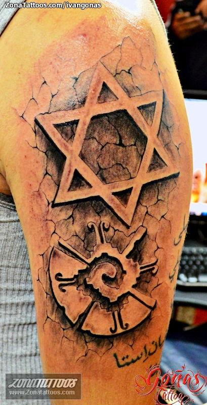 Tatuaje De Estrellas Grietas