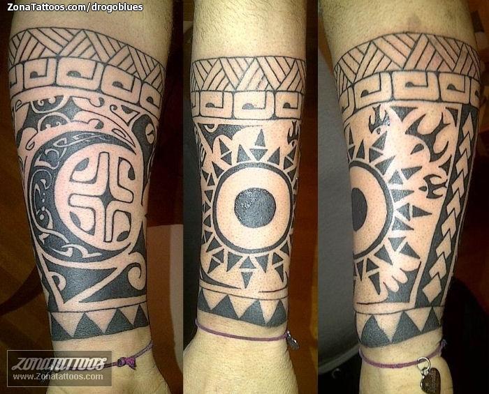 Tatuaje De Maories Antebrazo - Fotos-de-maories