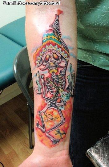 Tatuajes Y Diseños Mexicanos