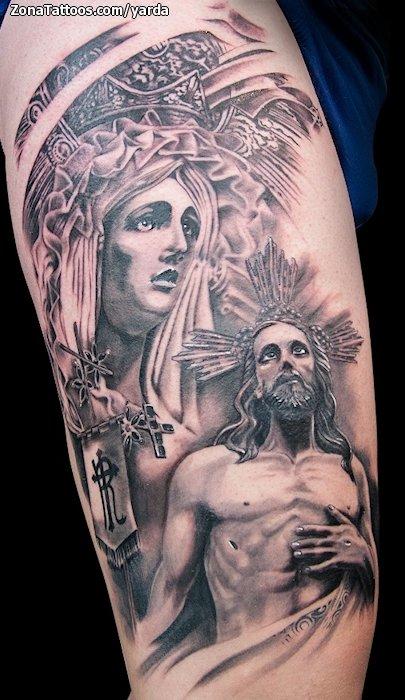 Tatuajes Y Diseños De Cristo O Jesucristo