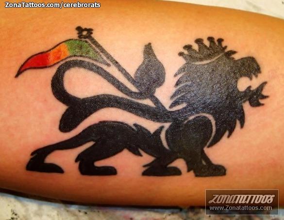 Tatuaje De León De Judá