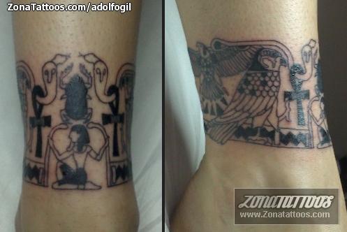 Tatuaje De Egipcios Brazaletes