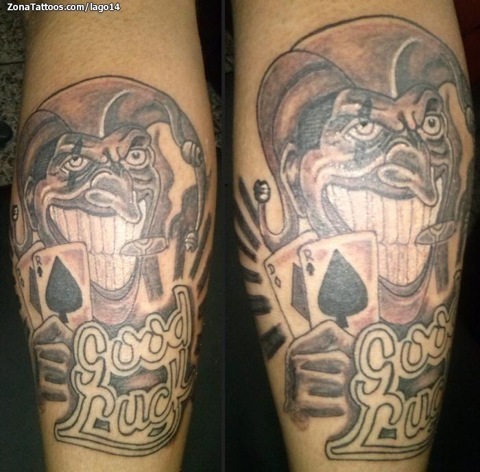 Tatuaje De Joker Gemelo