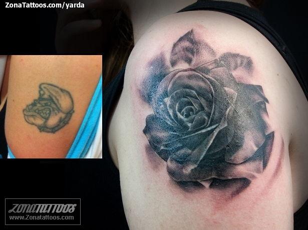Más De 2000 Tatuajes Y Diseños De Tatuajes De Rosas Sin Registro
