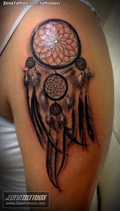 Tatuaje De Atrapasueños