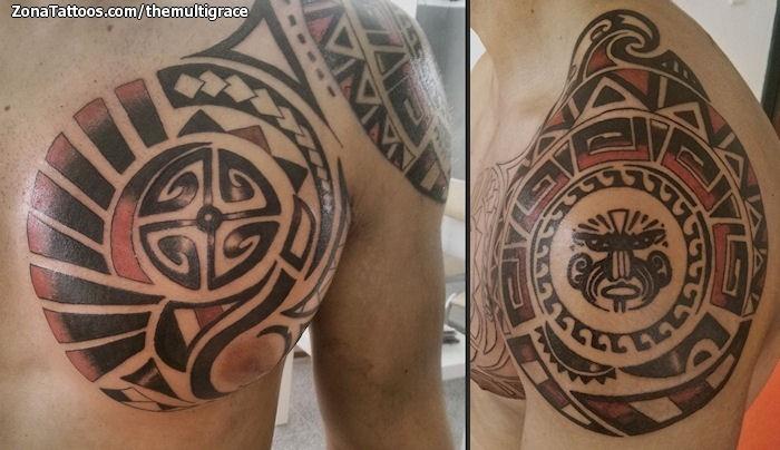 Tatuajes Hombro Maories Great With Tatuajes Hombro Maories