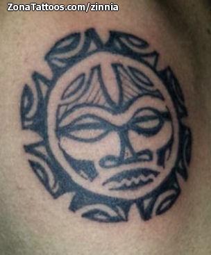 Tatuaje De Soles Maories - Soles-maories