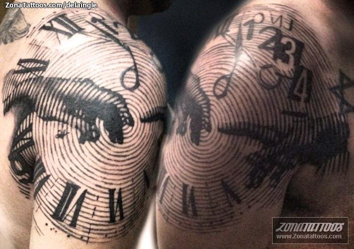 Tatuajes De Relojes Disenos De Relojes De Arena Etc