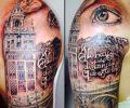 Tatuaje de ostia