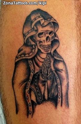 Tattoo of Santa Muerte