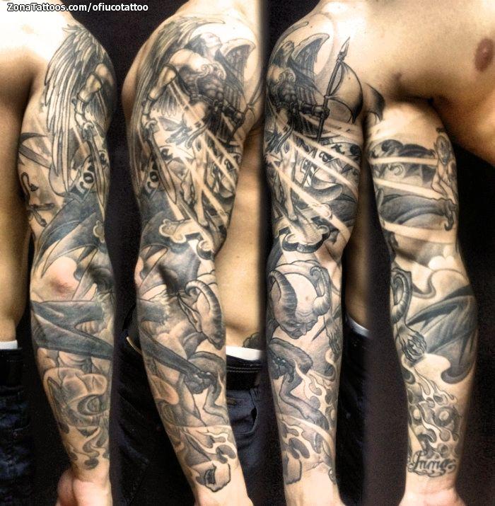 Tatuaje de ofiucotattoo