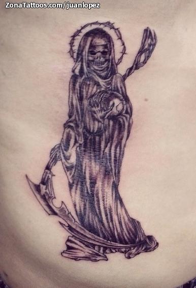 Tatuaje De Santa Muerte Muertes