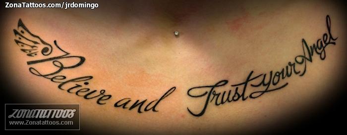 Tatuaje De Pecho Frases Letras