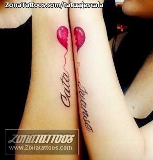 Tatuaje De Corazones Parejas